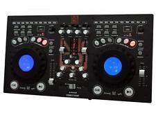 MR DJ CDMIX700BT Professional Dual CD Mixer with USB/SD Card & Bluetooth Tech
