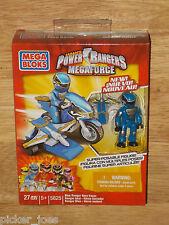 NEW Mega Bloks 5825 POWER RANGERS MEGAFORCE Bike Mode BLUE RANGER HERO RACER