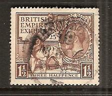 Great Britain # 204 Used 1925 Empire Exhibition