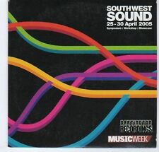 (EA176) South West Sound 2005, 13 tracks various artists - Music Week CD