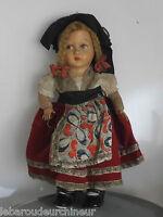 Ancienne poupée cocarde française