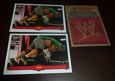 Brock Lesnar WWE 2012 Topps Heritage Ringside Action F-5 Insert Trading Card #26