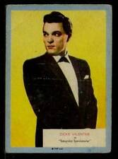 (Gg303-348) A & BC Gum, Who-Z-At-Star?, #47 Dickie Valentine 1958 G