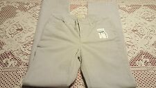 ST JOHN'S BAY Secretly Slender Bootcut Corduroy Pants, Size 4, Light Gray, NWOT