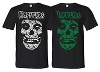 HOPFIENDS Tee Shirt Barrel Homebrew Craft Beer Brewery Funny Stout Hops IPA Brew