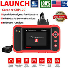 LAUNCH X431 CRP129 OBD2 Auto Diagnostic Tool Code Reader Engine ABS SRS Scanner