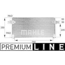 1 Condenseur, climatisation MAHLE AC 282 000P BEHR *** PREMIUM LINE ***