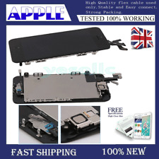 For iPhone 5S LCD Touch Screen Home Button Display Digitizer Replacement Black