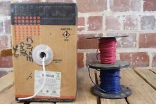 Lot of 2 Essex Wire Spools and 1 Bravotwist Wire Box: 14AWG, 14 Gauge and 24AWG