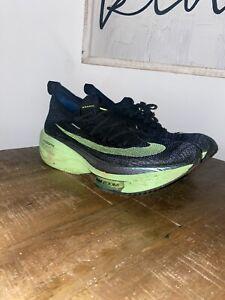 Size 9.5  - Nike Air Zoom Alphafly Next% Lime Blast 2020 - CI9925-400