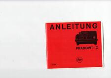 LEITZ Anleitung Manual Pradovit C   B1186