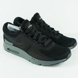 NEW Nike Air Max Zero QS Black Dark Grey 789695-001 Men's Size 13