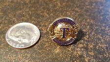 TOASTMASTERS INTERNATIONAL Member Tie Tack/Pin - Vintage Toastmaster pins