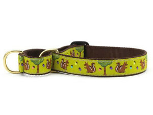 Dog Martingale Collar - Up Country - Made In USA - Nuts & Squirrels - S, M, L XL