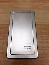 """American Express Silver Tin Check Presenter 3 1/2"""" X 6 1/2"""" 1/4"""" Deep"""