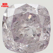Natural Loose Diamonds Cushion Pink Color 3.44 MM I2 Clarity 0.21 Ct N5063