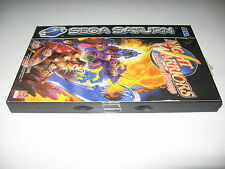 Night Warriors Darkstalkers Revenge Sega Saturn New Sealed Excellent VERY RARE