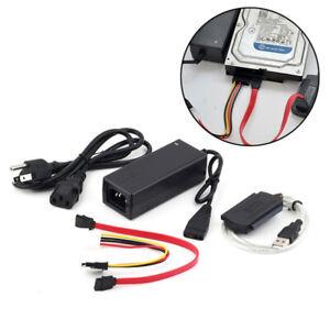 Câble adaptateur SATA / IDE vers USB 2.0 pour disque dur 2,5 / 3,5 pouces