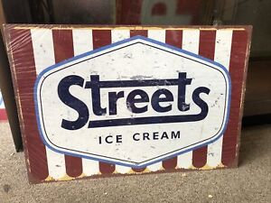 Streets Ice Cream Reproduced Metal Sign