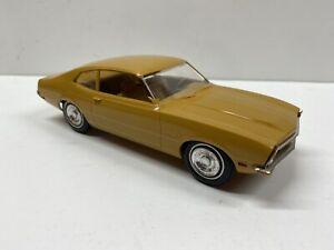 Vintage Johan 1970 Ford Maverick 1:25 Scale Promotional Model Promo (YELLOW)