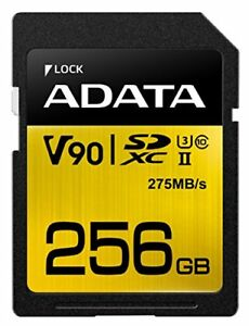 ADATA Technology Premier One SDXC Uhs-Ii Class10 256GB ASDX256GUII3CL10-C