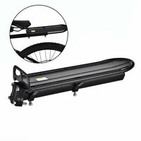 Bike Bicycle Rear Rack Bracket Seat Post Mount Pannier Luggage Carrier Shelf Set