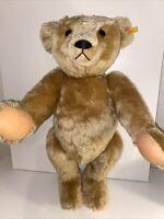 """STEIFF 404894 MOHAIR TEDDY BEAR 24"""" GROWLER"""
