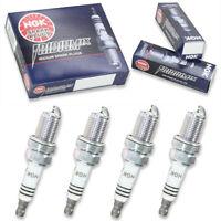4 pc Denso Iridium TT Spark Plugs for 1987-2013 Volkswagen Jetta 1.8L 2.0L sj