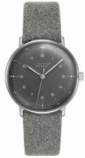 AUTHORIZED DEALER Junghans 027/3602.00 Max Bill Hand-Winding Grey Dial Watch