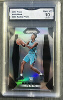 2017-18 Panini Prizm Silver Malik Monk Rookie RC Hornets #233 GMA 10
