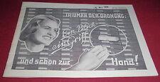 dachbodenfund versandhaus katalog heft alt  göbelhoff büro artikel hannover 1959