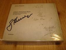 GIDON KREMER Bach Partiten und Sonaten für Violine Solo ECM 2 CD Signed Signiert