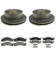 For Ford E-450 Super Duty Front and Rear Disc Brake Rortors and Pads A.C. Delco