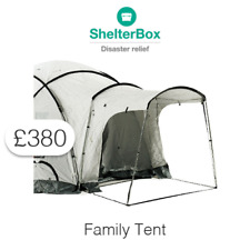 £380 Charitable Donation For: Family Tent