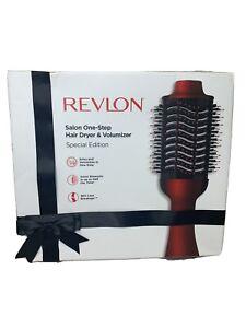 REVLON Salon One-Step Hair Dryer & Volumizer Special Edition RVDR522HOL *NEW*