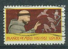 Briefmarken USA 1982 Hl. Franz von Assisi Mi.Nr.1604