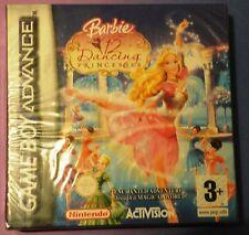 Barbie dans les 12 Dancing Princesses GAMEBOY ADVANCE GBA DS LITE Jeu Nouveau Scellé