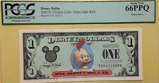 2005T $1 Chicken Little Disney Dollar Graded By PCGS Gem New 66PPQ, T10111557A