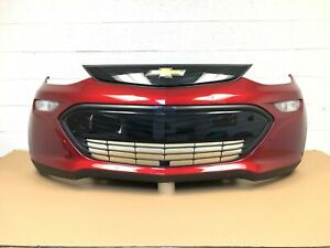 2017 2018 2019 2020 chevy bolt EV front bumper with camera (glory red) #10
