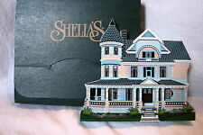 Shelia's 1996 Collectible Victorian Queen Anne Mansion Eureka Springs, Ar w/ Box