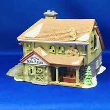 Dept 56 New Eng Village Series Bluebird Seed and Bulb #5642-1 Retired Christmas