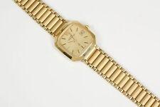 Quarz-(Batterie) Armbanduhren aus Massivgold mit 12-Stunden-Zifferblatt und Quadrat
