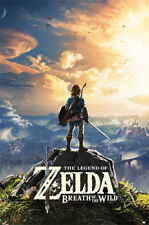 THE LEGEND OF ZELDA - BREATH OF THE WILD 91.5 X 61CM MAXI POSTER NEW OFFICIAL