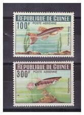 GUINEE.  PA  N° 38/39 .2  VALEURS  POISSONS   NEUVES   * .SUPERBE.