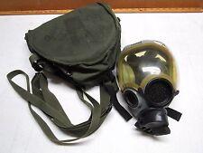 MSA MCU-2/P Mil-Spec Gas Mask w/ clear visor MEDIUM  6E10