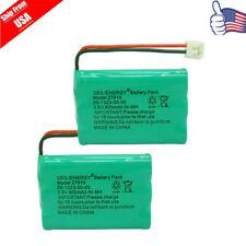 2x Cordless Phone Battery for Sanik 3SN-AAA60H-S-J1 ATT/Lucent 27910 E1112 USA
