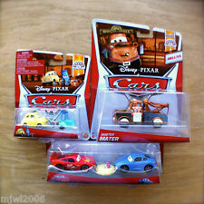 Disney PIXAR Cars SALLY, WAITER MATER, LUIGI GUIDO diecast WHEEL WELL MOTEL lot