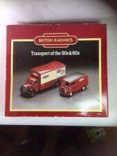 CORGI CLASSICS BRITISH RAILWAYS D46/1 MORRIS J VAN & BEDFORD O SERIES VAN