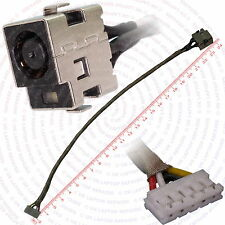 HP Pavilion DV7-1055EA DC IN Power Jack Port Socket w/ Cable Connector Wire