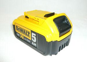 DeWalt XR Li-Ion DCB184 AKKU 18V 5.0 Ah LI-ION Accu Batterie für Akkuschrauber